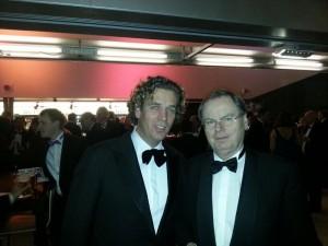 Marco Juffermans met Bernard Wientjes